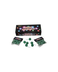 Cracklingballs, 6stk. x 12poser, 20mm